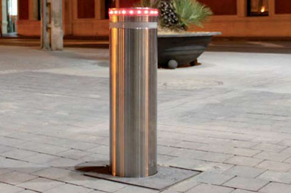 Led crowd for bollards